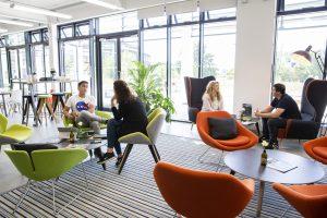 Ventura Digital Marketing Agency team working in the office