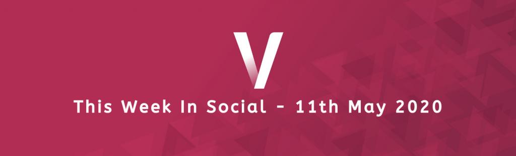 This Week In Social 11th May 2020 Ventura logo banner