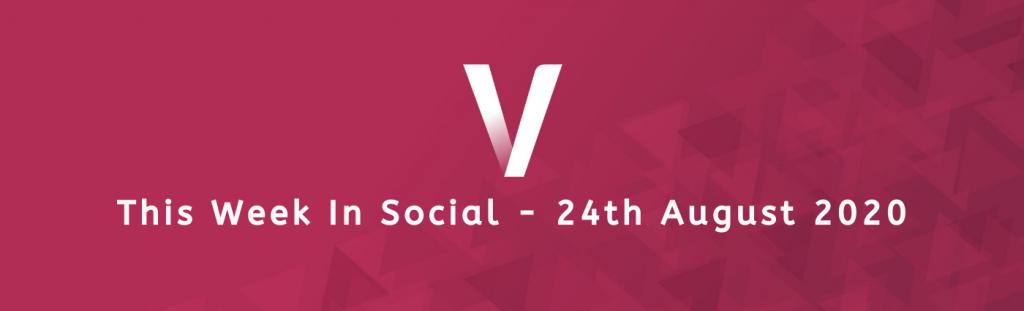 24th August Ventura This Week In Social banner