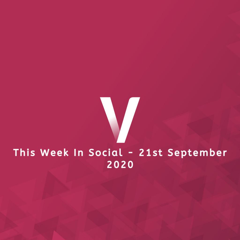 This Week In Social 21st September