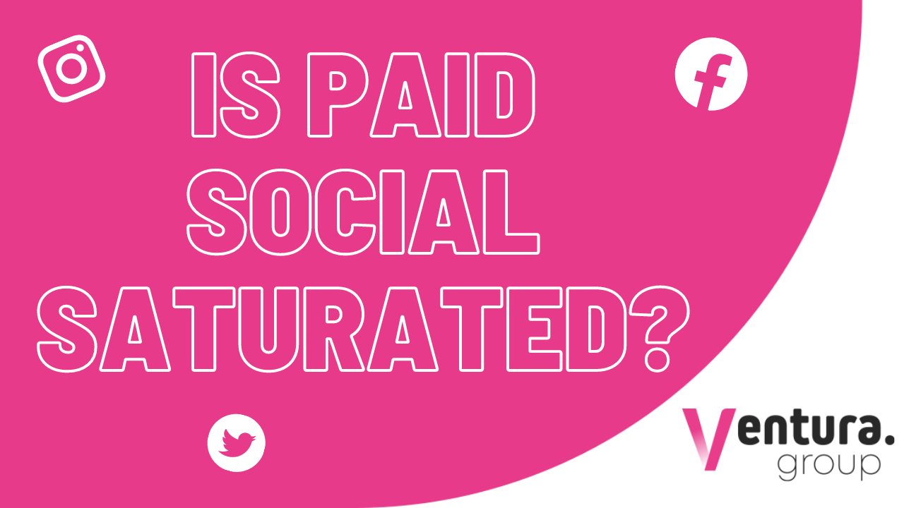Is Paid Social Saturated? Webinar