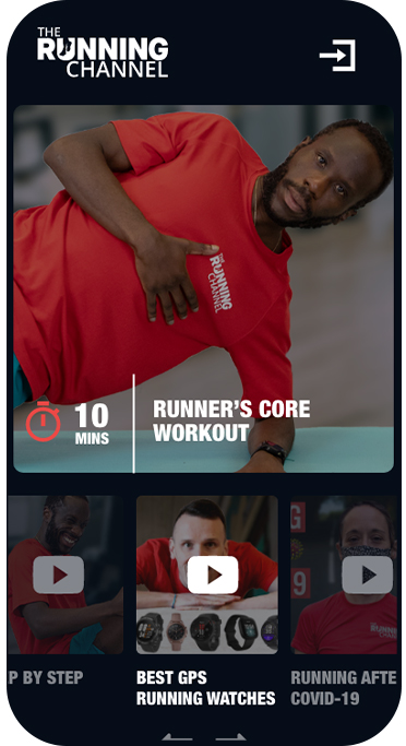 The Running Channel iPhone Instagarm Image