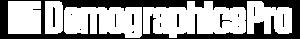 Demographics pro logo white png