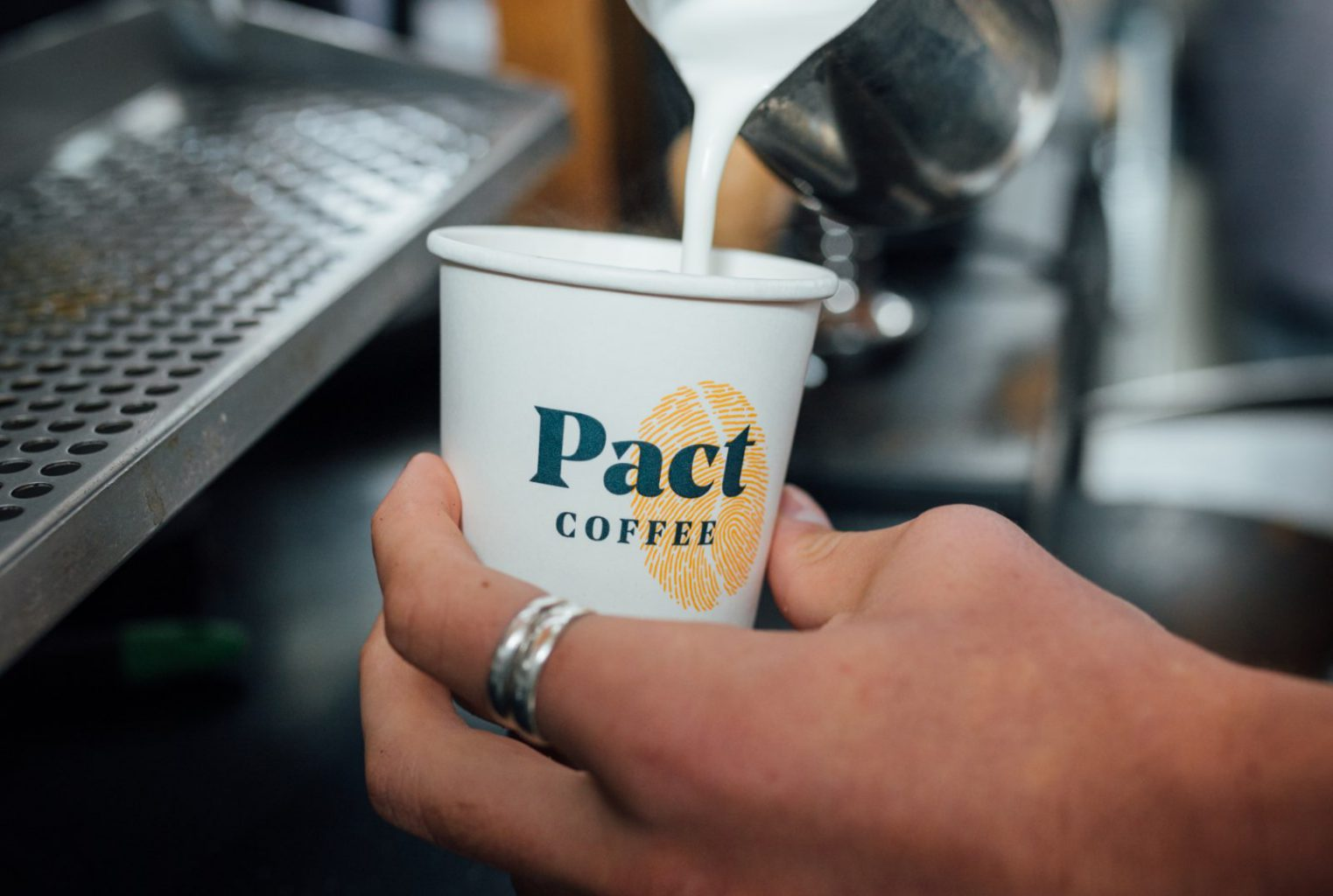 Pact Coffee Pour